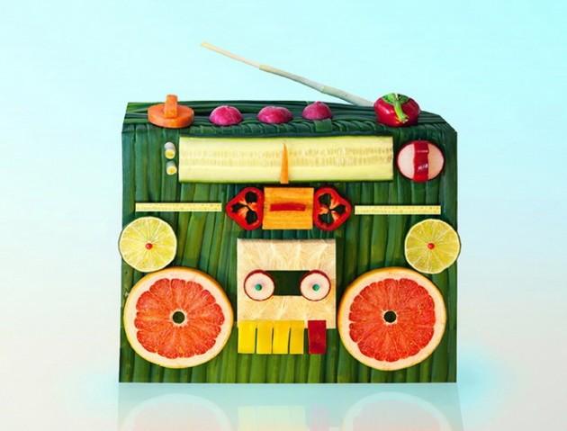 escultura comida 1