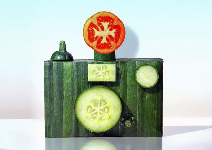 escultura comida 2